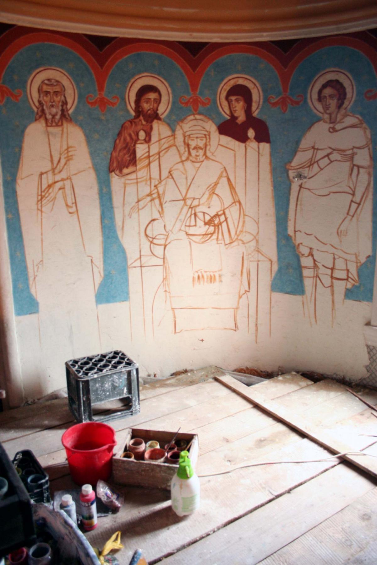 Șantierul pictorului Constantin Bârleanu